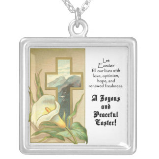 Joyous and Peaceful Easter Necklace