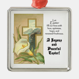 Joyous and Peaceful Easter Ornament