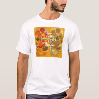 Joyous and sad  sunflowers T-Shirt