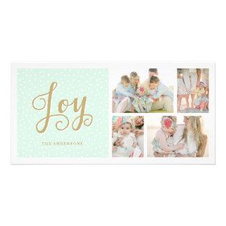 Joyous Collage   Holiday Photo Cards