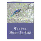 Joyous Easter Blue Jay Songbird Card
