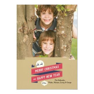 Joyous Holiday Photo Card