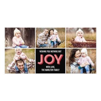 Joyous Moments Holiday Photo Card