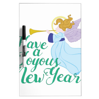 Joyous New Year Dry Erase Board