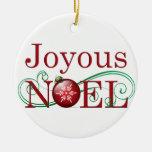 Joyous Noel Ornament