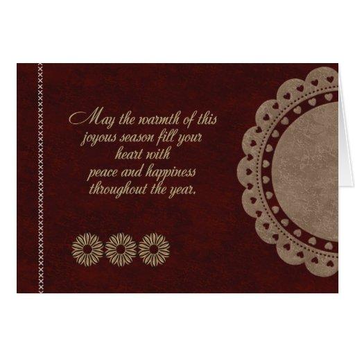 Joyous Season Greeting Card