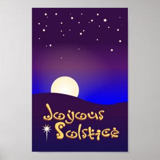 Joyous Solstice 8 x 12 Poster