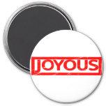 Joyous Stamp Magnet