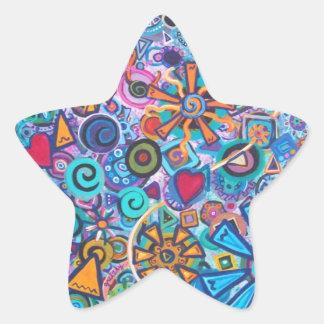 Joyous Star Sticker