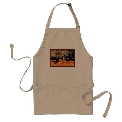 joyous thanksgiving apron