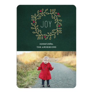 Joyous Tradition 5x7 Paper Invitation Card