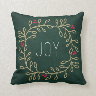 Joyous Tradition Throw Pillow