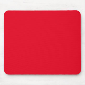 Joyously Jolly Red Color Mouse Pad