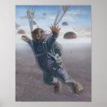 Joyride aéreo de Wombat Posters