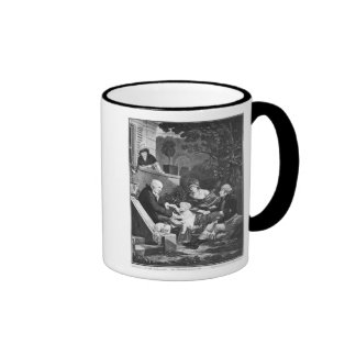 Joys of being a father, c.1797 mugs