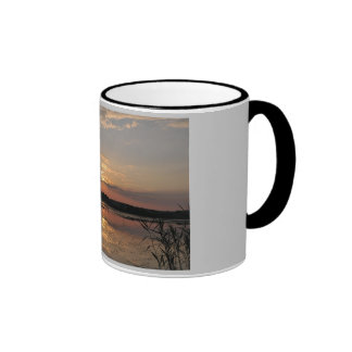 Joys of summer, sunset in somogy county, Hungary Ringer Coffee Mug