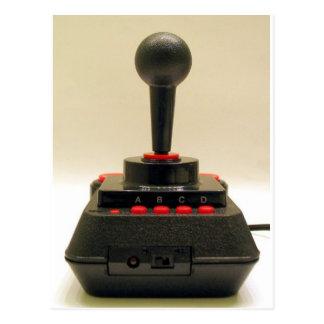 Joystick C64 Postcard