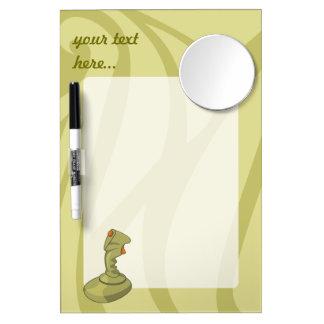 Joystick Dry Erase Board With Mirror