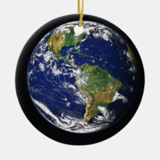 JoyToTheWorld: CareForMotherEarth Ceramic Ornament