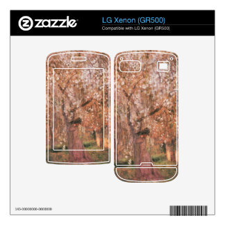 Jozsef Rippl-Ronai - Cherry tree blooms LG Xenon Skin