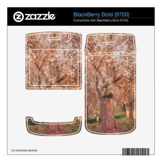 Jozsef Rippl-Ronai - Cherry tree blooms Skins For BlackBerry Bold