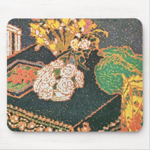 Jozsef Rippl-Ronai - Chrysanthemums Mouse Pads