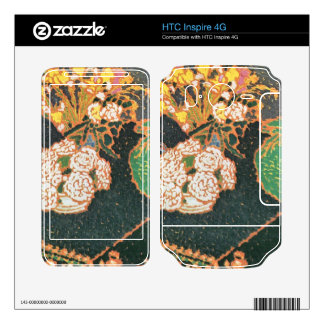 Jozsef Rippl-Ronai - Chrysanthemums Decal For HTC Inspire 4G