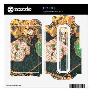 Jozsef Rippl-Ronai - Chrysanthemums Decal For The HTC Tilt 2