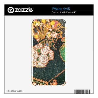 Jozsef Rippl-Ronai - Chrysanthemums iPhone 4 Skin