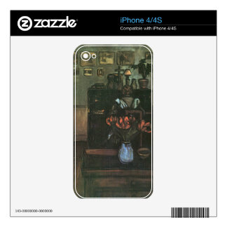 Jozsef Rippl-Ronai - Dawn in an intimate room iPhone 4S Decal