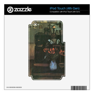 Jozsef Rippl-Ronai - Dawn in an intimate room Skin For iPod Touch 4G