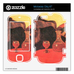 Jozsef Rippl-Ronai - Father and uncle with the red Skin For Motorola Cliq XT