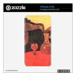 Jozsef Rippl-Ronai - Father and uncle with the red Skin For The iPhone 4