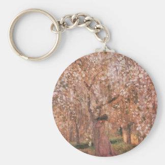 Jozsef Rippl-Ronai - floraciones del cerezo Llavero