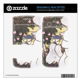 Jozsef Rippl-Ronai - Illustration to Les Vierges BlackBerry Skin