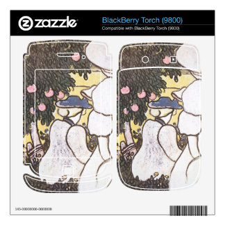 Jozsef Rippl-Ronai - Illustration to Les Vierges BlackBerry Torch Skins