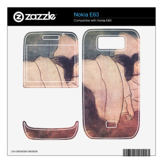 Jozsef Rippl-Ronai - Lady in bed Nokia E63 Skin