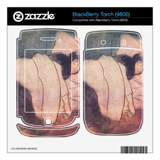 Jozsef Rippl-Ronai - Lady in bed BlackBerry Torch Decals