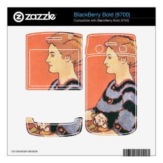 Jozsef Rippl-Ronai - Lady in Blue BlackBerry Bold 9700 Skin