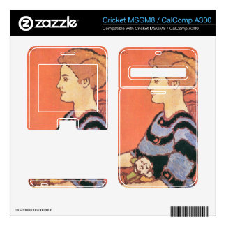 Jozsef Rippl-Ronai - Lady in Blue Decals For Cricket MSGM8
