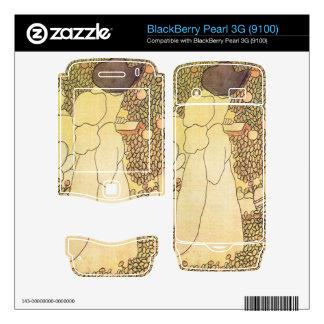 Jozsef Rippl-Ronai - Lady in her garden BlackBerry Pearl Skins