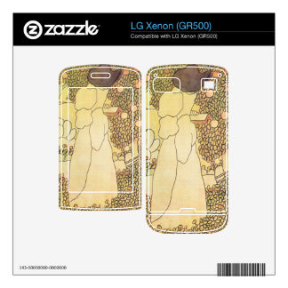 Jozsef Rippl-Ronai - Lady in her garden Decals For LG Xenon