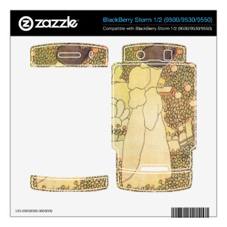 Jozsef Rippl-Ronai - Lady in her garden BlackBerry Storm Skins