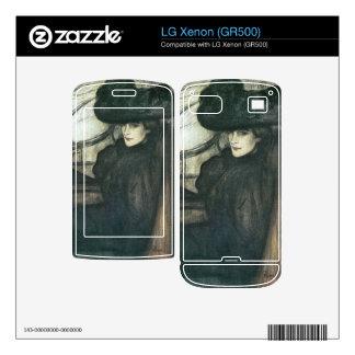 Jozsef Rippl-Ronai - Lady with black veil Skins For The LG Xenon