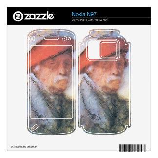 Jozsef Rippl-Ronai - Last self portrait Skin For The Nokia N97
