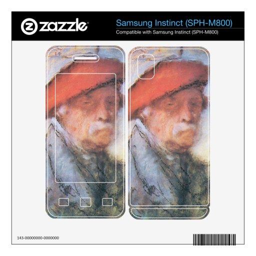 Jozsef Rippl-Ronai - Last self portrait Samsung Instinct Decal