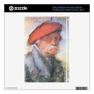 Jozsef Rippl-Ronai - Last self portrait Sony Reader Decal