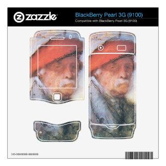 Jozsef Rippl-Ronai - Last self portrait BlackBerry Pearl Decals