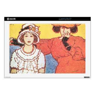 Jozsef Rippl-Ronai - Lazarine and Anella Decal For Laptop