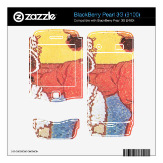Jozsef Rippl-Ronai - Lazarine and Anella BlackBerry Decals